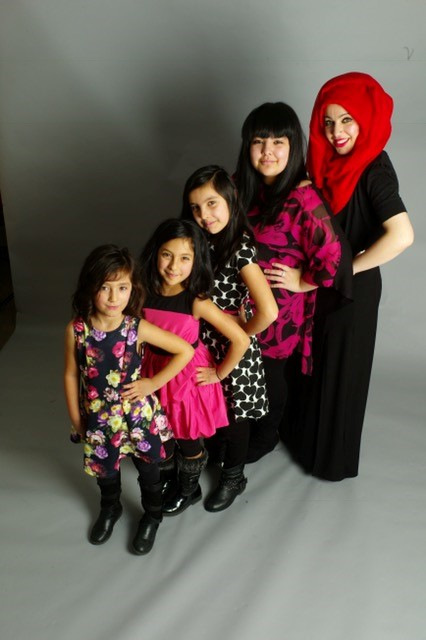 One of the 'Born in Bradford' study families