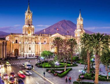 Scenic view of Arequipa, Peru