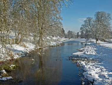River in winter credit Paul Jennings